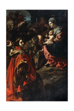 The Adoration of the Magi, Late 16th or 17th Century Giclée-tryk af Rutilio Manetti