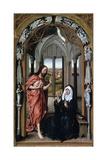 Christ Appearing to His Mother, C1440 Reproduction procédé giclée par Rogier van der Weyden
