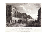 View of St Luke's Hospital, Old Street, Finsbury, London, 1817 Giclee Print by Thomas Higham