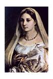 Woman with a Veil (La Donna Velat), 1512-13 Reproduction procédé giclée par  Raphael