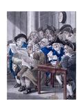 Stock-Jobbers Extraordinary, Stock Exchange, London, C1795 Giclee Print by Robert Dighton