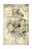 Study of a Monk, 1913 Reproduction procédé giclée par  Raphael