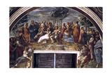 The Parnassus, from the Stanza Delle Segnatura, 1510-1511 Reproduction procédé giclée par  Raphael