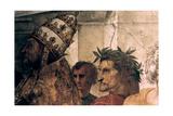 The Disputation on the Holy Sacrament (Detail), 1508-1509 Reproduction procédé giclée par  Raphael