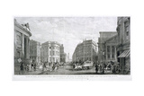 View of the Architectural Improvements in the Vicinity of the Bank, and the Mansion House, C1837 Giclee Print by Thomas Higham