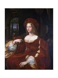 Portrait of Jeanne D'Aragon, 1518 Reproduction procédé giclée par  Raphael