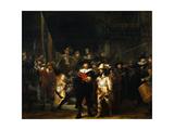 La ronde de nuit Reproduction procédé giclée par  Rembrandt van Rijn