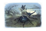 The Fairy Queen's Messenger, C1870 Lámina giclée por Richard Doyle