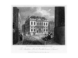 The Auction Mart, Bartholomew Lane, City of London, 1817 Giclee Print by Thomas Higham