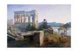 Philae, Egypt, 19th Century Giclee Print by Robert Dighton