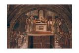 Justification of Leo III, 1514 Reproduction procédé giclée par  Raphael