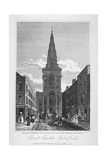 View of Christ Church, Spitalfields, London, 1817 Giclee Print by Thomas Higham
