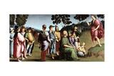 Saint John the Baptist Preaching, 1505 Reproduction procédé giclée par  Raphael
