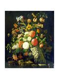 Flowers, 18th Century Lámina giclée por Rachel Ruysch