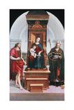 The Ansidei Madonna, 1505 Reproduction procédé giclée par  Raphael