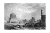 Tombs of the Kings of Golconda, Andhra Pradesh, India, 1844 Giclee Print by Thomas Higham