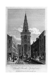 Christ Church, Spitalfields, London, 1817 Giclee Print by Thomas Higham