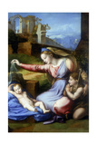 The Virgin of the Veil, Early 16th Century Reproduction procédé giclée par  Raphael