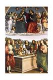 The Crowning of the Virgin (Oddi Alta), 1502-1503 Reproduction procédé giclée par  Raphael