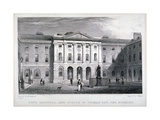 Guy's Hospital, Southwark, London, C1825 Giclee Print by Thomas Higham