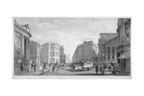The Bank of England and the Newly-Straightened Prince's Street, City of London, 1837 Giclee Print by Thomas Higham