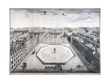 Golden Square, Westminster, London, 1754 Giclee Print by Sutton Nicholls
