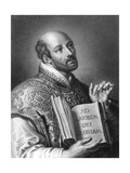 St Ignatius of Loyola, 16th Century Spanish Soldier and Founder of the Jesuits Giclee Print by W Holl