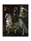 Louis XIV King of France, 1648 Giclée-Druck von Simon Vouet