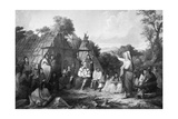 The Indian Council, C1847 Giclee Print by Seth Eastman