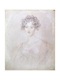 Portrait of Countess Elisabeth Vorontsova, 1821 Giclée-tryk af Thomas Lawrence