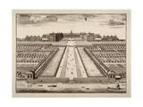 Bird's-Eye View of the Royal Hospital, Chelsea, London, C1750 Giclee Print by Sutton Nicholls