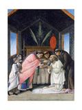 The Last Communion of St Jerome, C1495 Reproduction procédé giclée par Sandro Botticelli