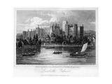 Lambeth Palace, London, 1817 Giclee Print by Thomas Higham