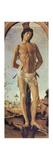Saint Sebastian, 1474 Reproduction procédé giclée par Sandro Botticelli