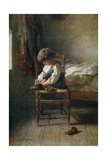 Alone, 19th Century Giclee Print by Theophile Emmanuel Duverger