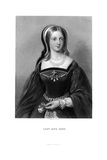 Lady Jane Grey (1537-155), 19th Century Giclee Print by W Holl