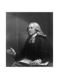 John Wesley, 18th Century English Non-Conformist Preacher Giclee Print by W Holl
