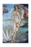The Birth of Venus (Detail), C1485 Giclée-Druck von Sandro Botticelli