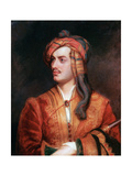 Byron of Rochdale in Albanian Dress, 1813 Giclee Print by Thomas Phillips