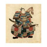 Japanese Warlord Minamoto No Yoritomo, 1845 Impressão giclée por Utagawa Kuniyoshi