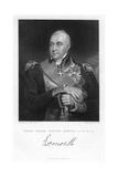 Edward Pellew, 1st Viscount Exmouth, British Naval Officer, 1831 Giclee Print by W Holl