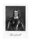 Oliver Cromwell, English Soldier and Statesman, 19th Century Giclee Print by W Holl