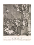 Credulity, Superstition and Fanaticism. a Medley, 1762 Giclee Print by William Hogarth
