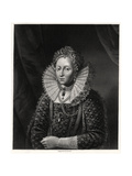 Queen Elizabeth I, 19th Century Giclee Print by W Holl
