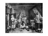 The Distrest Poet, 1740 Giclee Print by William Hogarth