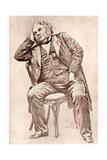 Mark Lemon, 19th Century Editor of Punch Magazine Impressão giclée por William Henry Margetson