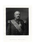 Achille Francois Bazaine, Marshal of France, 19th Century Giclee Print by W Holl