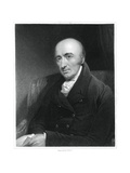 William Hyde Wollaston, English Chemist and Physicist Giclee Print by W Holl