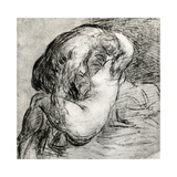 Lovers (Jupiter and I), C1560 Giclée-tryk af  Titian (Tiziano Vecelli)
