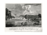 Edwinsford, the Seat of R Banks Hodgkinson Esq, Carmarthenshire, 1776 Giclee Print by William Watts